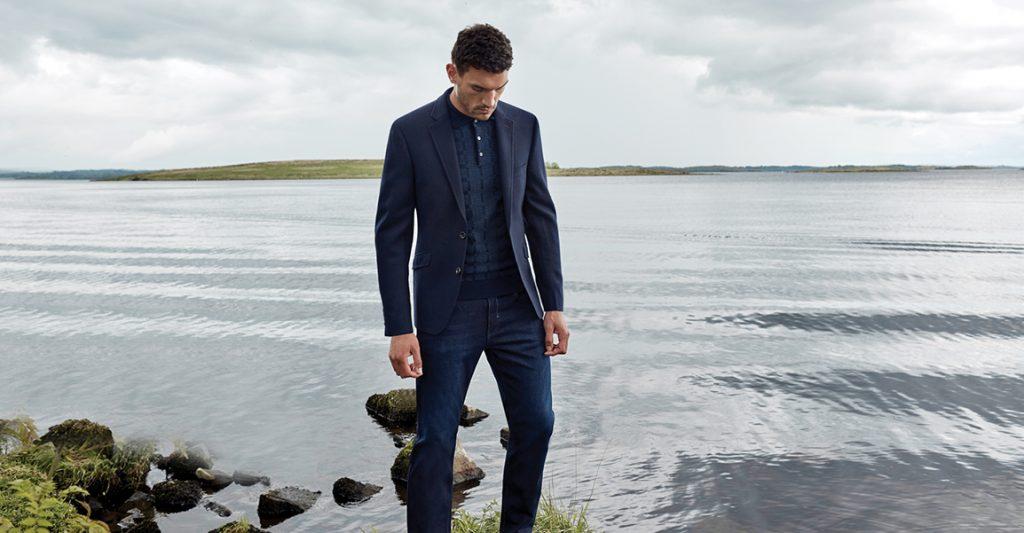 douglas autumn winter menswear jacket blazer jeans