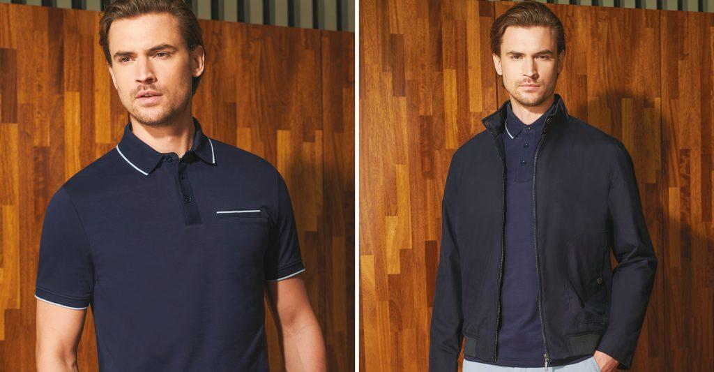 douglas menswear polo shirt jacket