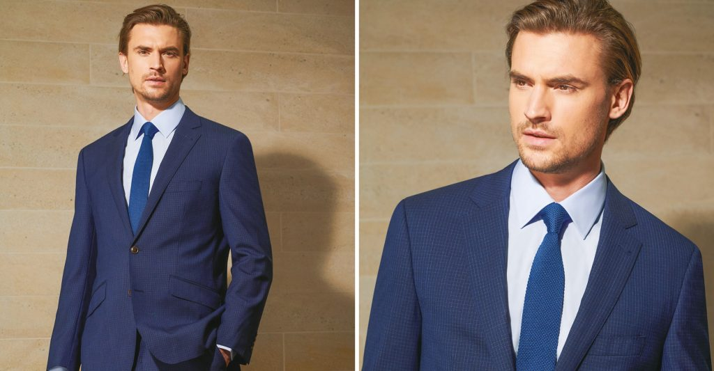 douglas menswear suit navy